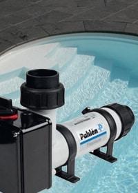 Warmtewisselaar voor zwembaden te verwarmen