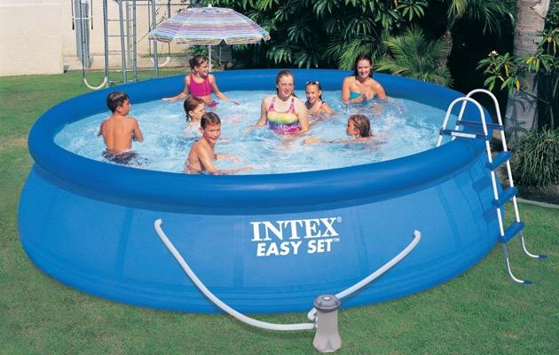 Intex opblaasbaar zwembad