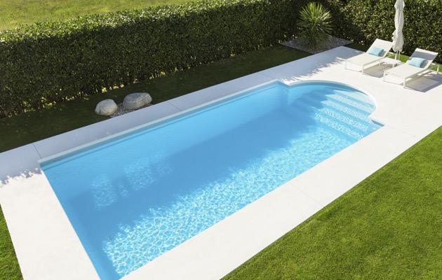Polyester zwembad online info voorbeelden prijs advies - Klein zwembad in de kleine tuin ...