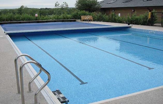 Rolluik zwembadverwarming