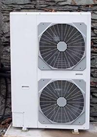 Warmtepomp op lucht