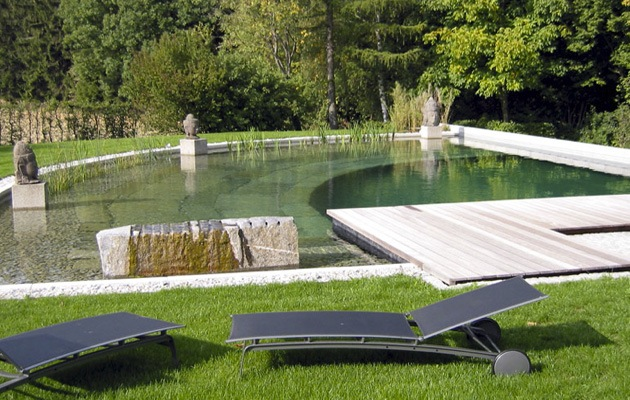 Zwemvijver opbouw soorten prijs advies - Doek voor tuinborstel ...