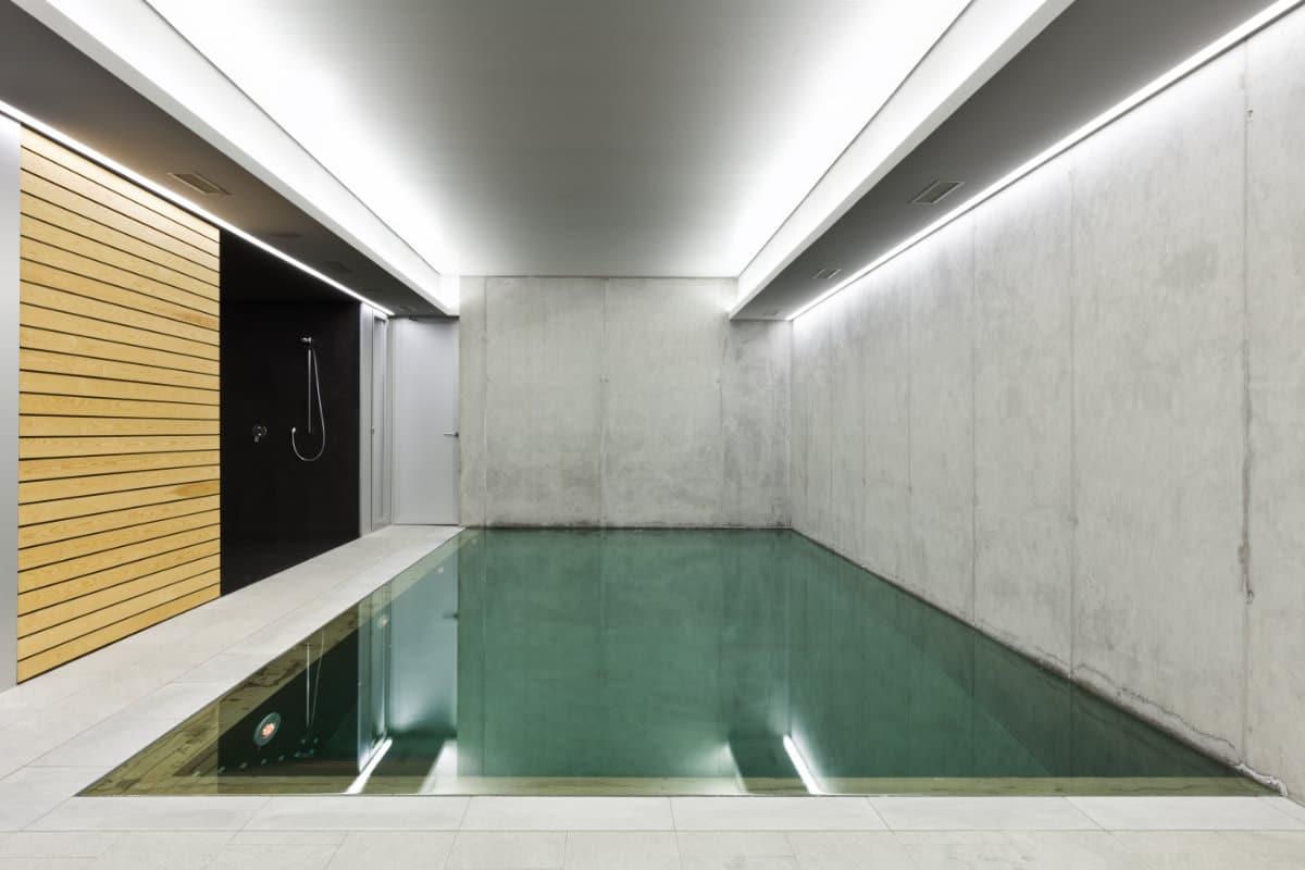 betonnen zwembaden