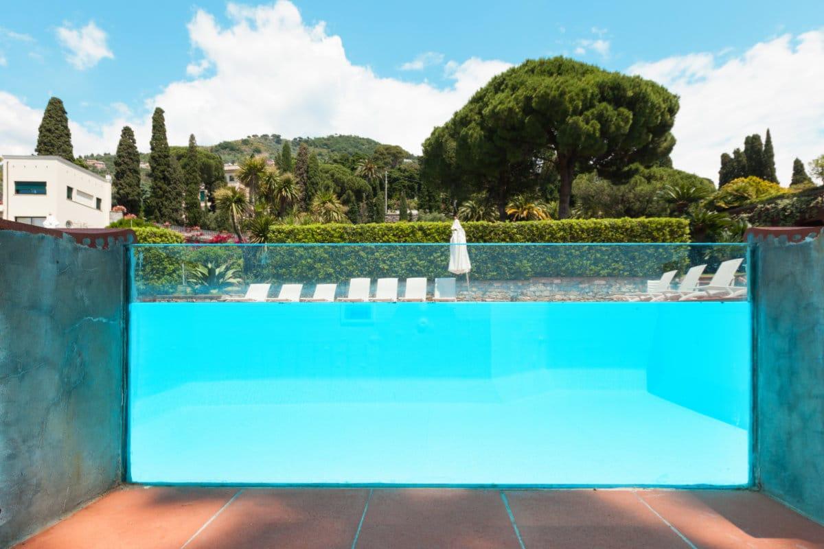 luxe zwembad