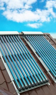 zonnecollectoren dak